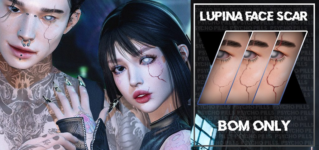 Lupina Face Scars at Jail Event