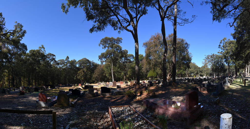 Springwood Cemetery, NSW.