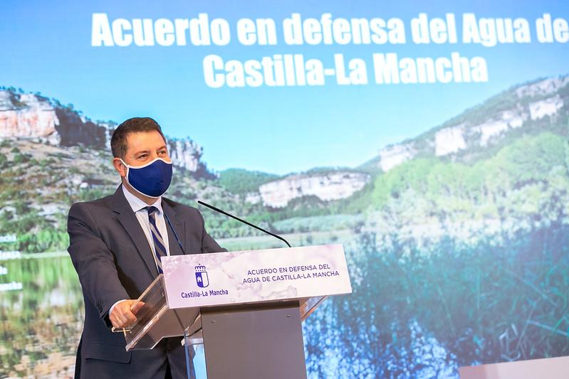 Firma del Acuerdo de Defensa del Agua de Castilla-La Mancha