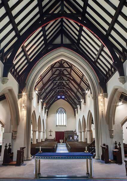 St Stephen's church, Shepherds Bush, London