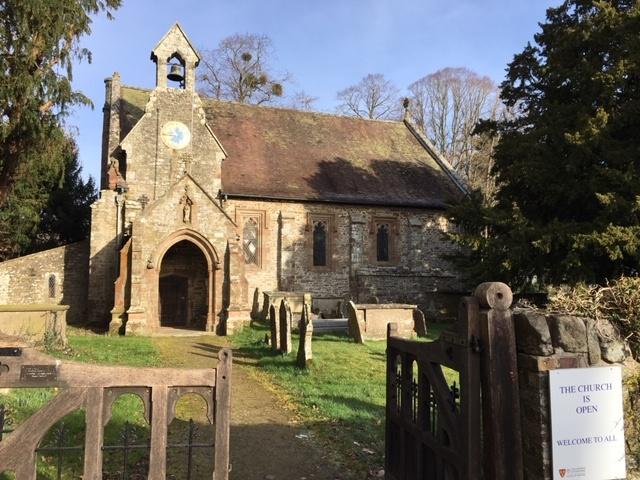 St Barnabas church, Brampton Bryan