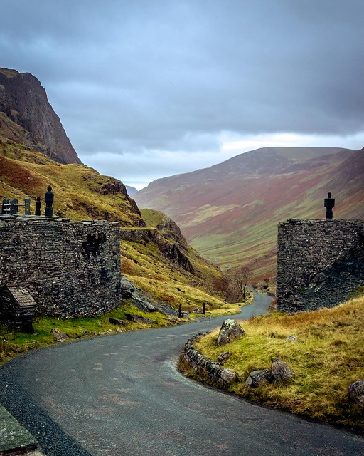 Honister Pass, Lake District, England - In Explore