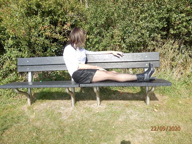 Bench in the sun