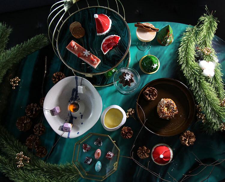 Janice Wong Christmas High Tea