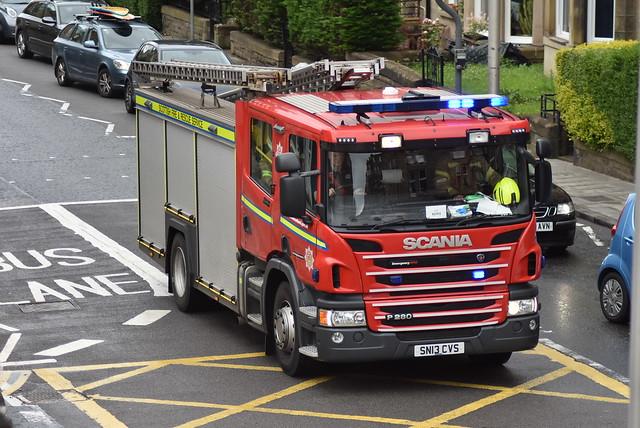 Scottish Fire & Rescue Service | Scania P280 | Water Rescue Ladder | SN13 CVS