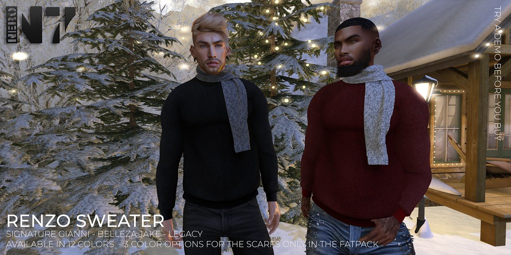 NERO - RENZO SWEATER