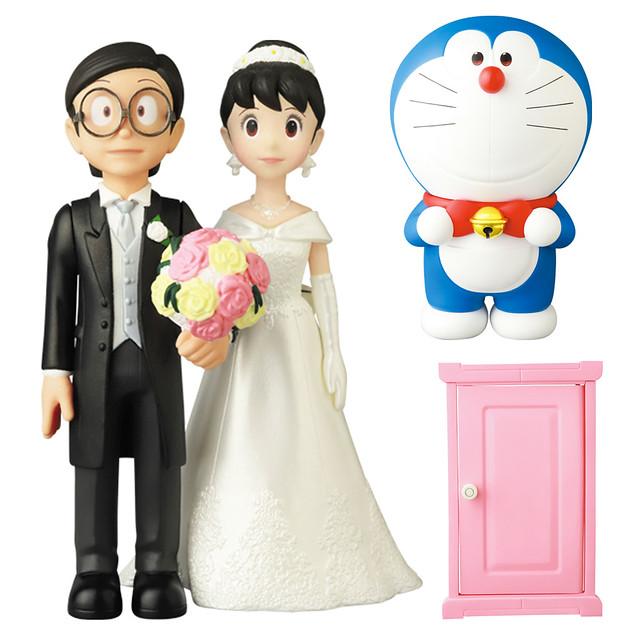 最棒的婚禮!MEDICOM TOY《STAND BY ME 哆啦A夢2》VCD UDF 系列電影紀念版