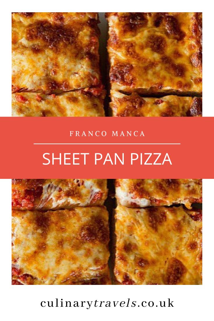 Franco Manca Tray Bake Pizza (Roman Style)