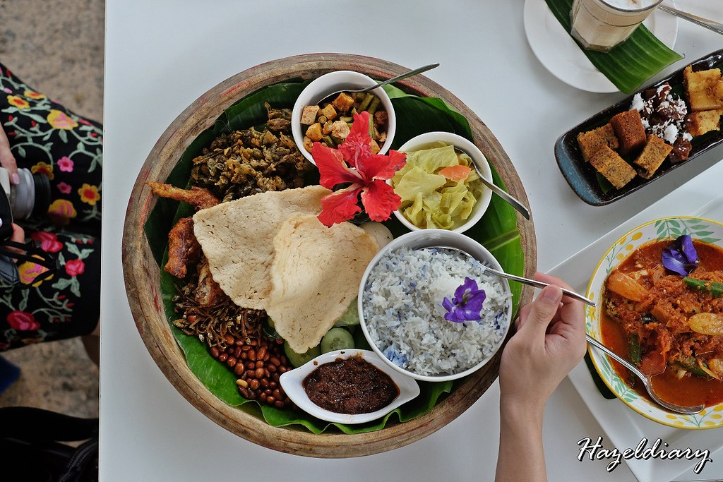 Bollywood Veggies-Poison Ivy Bistro- Nasi Lemak Platter