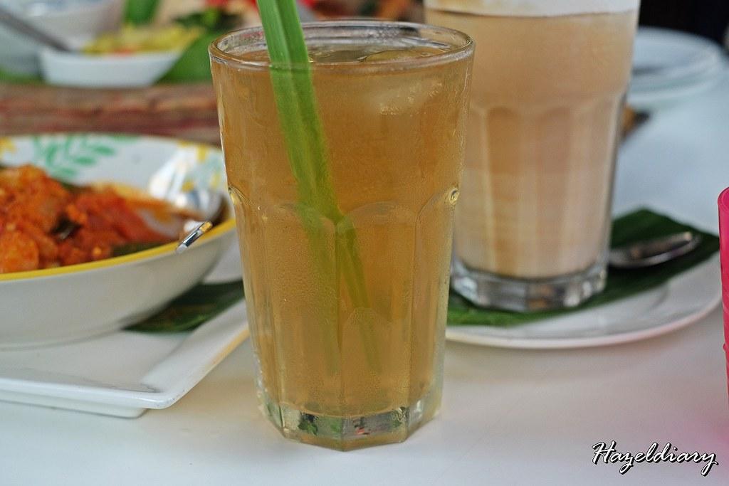 Bollywood Veggies-Poison Ivy Bistro- Iced Lemongrass