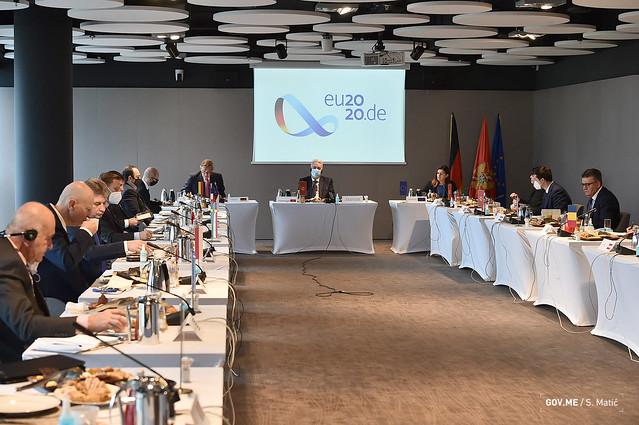 Zdravko Krivokapić - ambasadori država članica EU u CG (09.12.2020.)