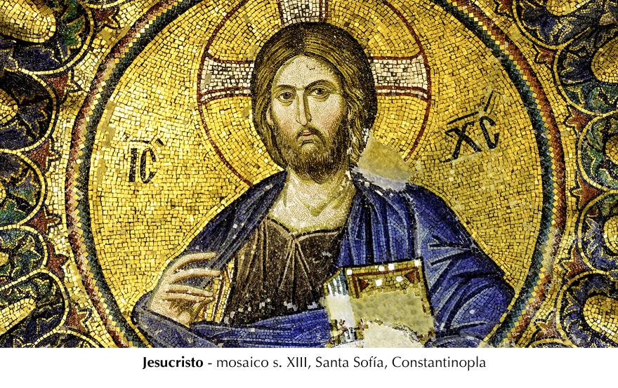 Cristo - Santa Sofía, Constantinopla