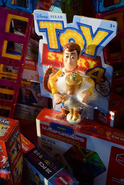 Toy Story Fenwick  Canterbury Christmas Windows 2020