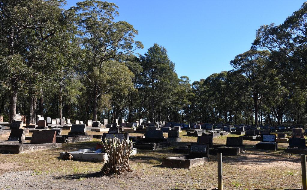 Springwood Cemetery, Springwood, NSW.