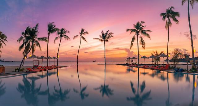Infinity sunset