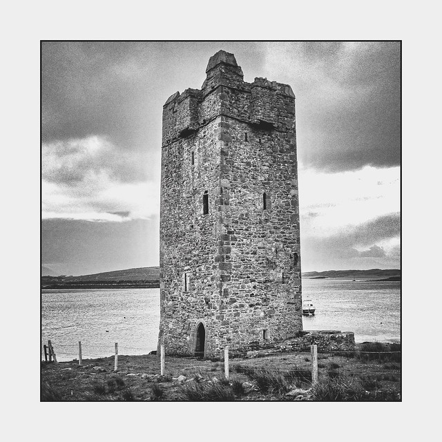 Grace O'Malley's Castle, Kildavnet Tower - Achill Island