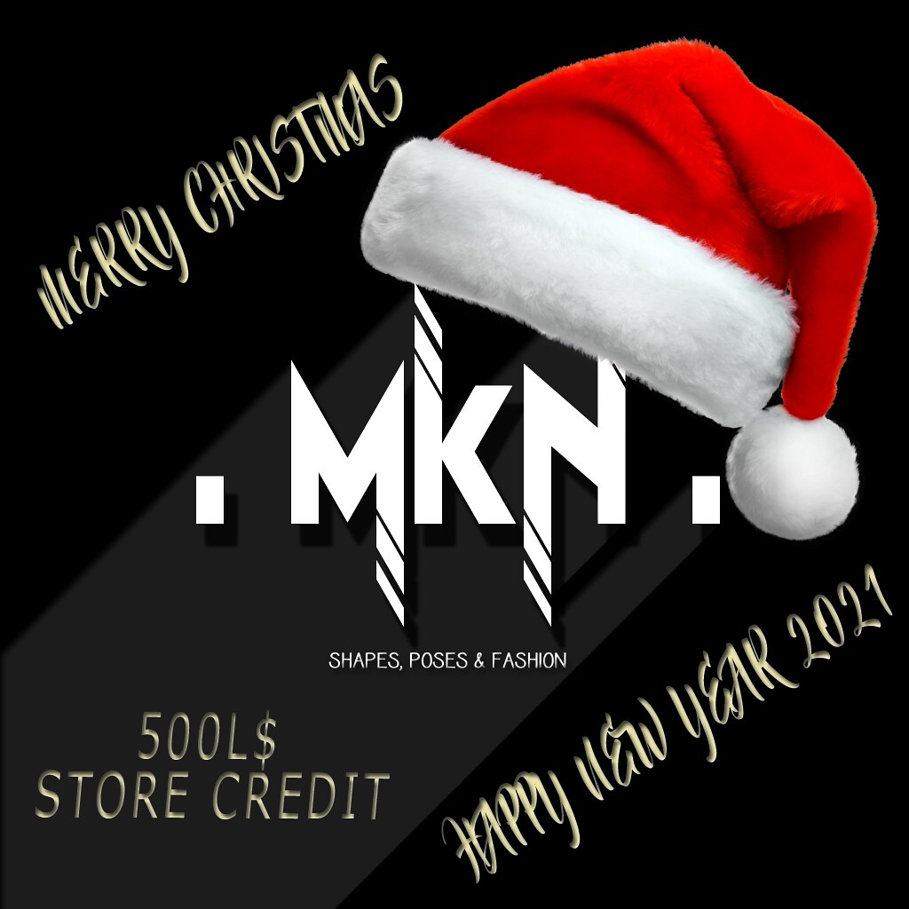 . MKN . 500L$ Store Credit Gift