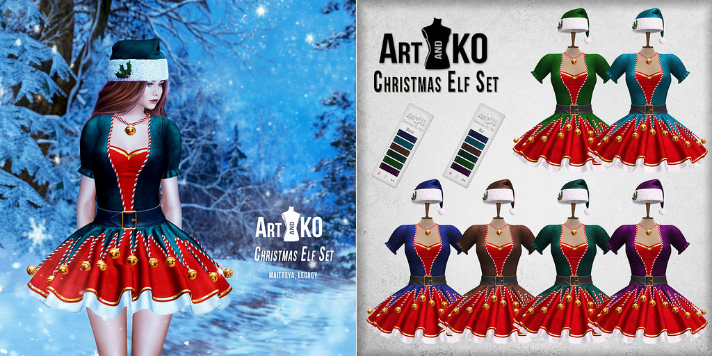 Art&Ko – Christmas Elf Set – WINTER SPRIT