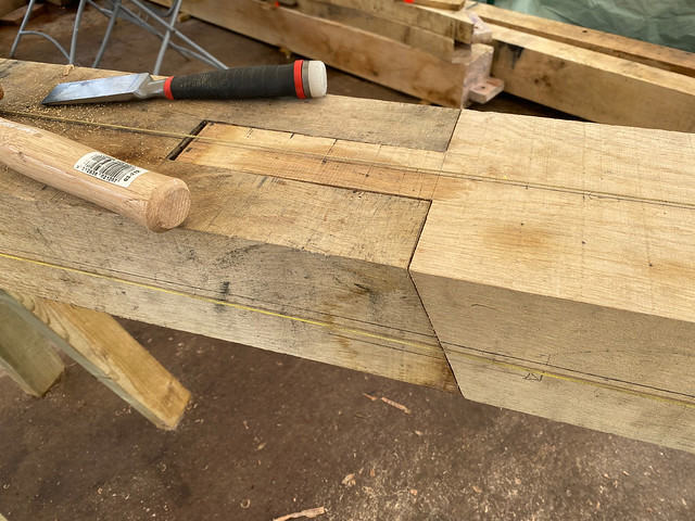 Second scarf joint
