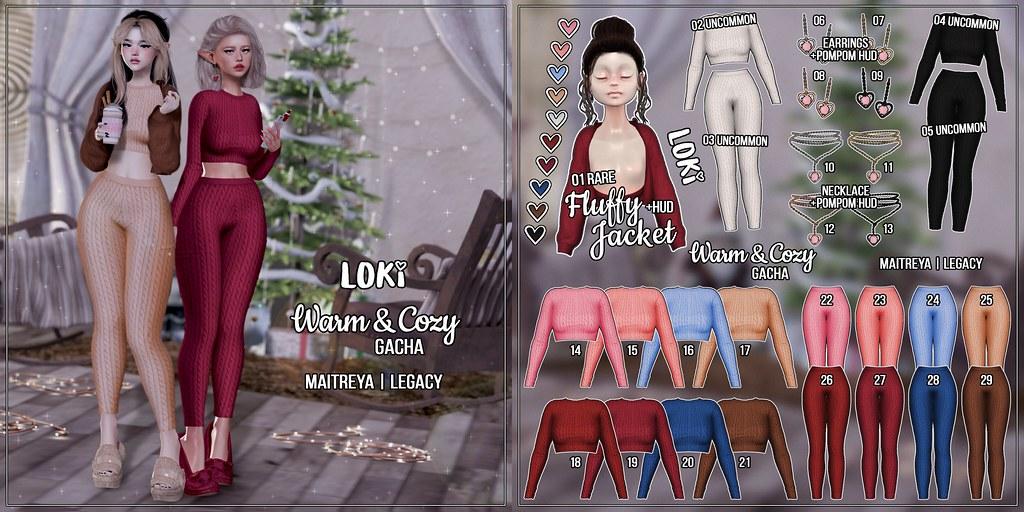 Loki • Warm&Cozy GACHA • GALA Fair | December '20