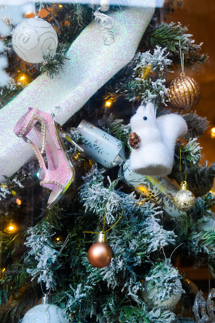 Elves and The Shoemaker  Canterbury Christmas Window 2020