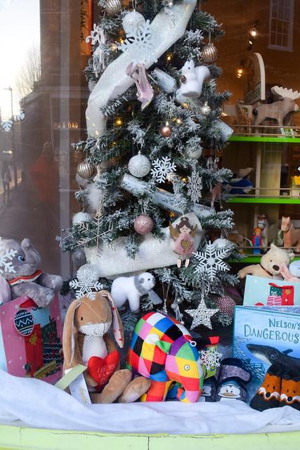 Elves & The Shoemaker  Canterbury Christmas Window 2020
