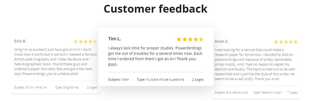 Power Writings review