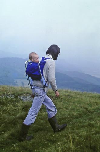 A walk with daddy