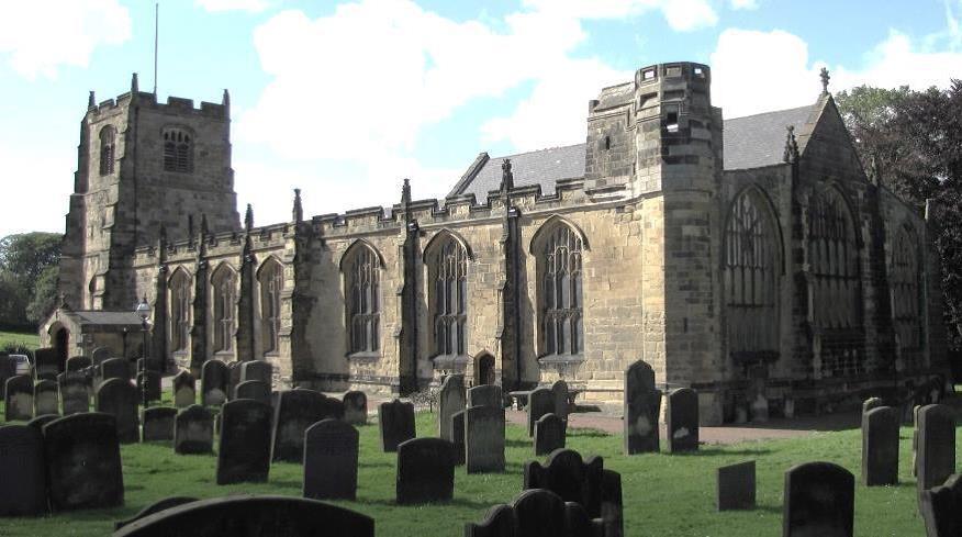 St Michael's church, Alnwick