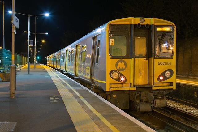 Merseyrail 507 001 Birkdale