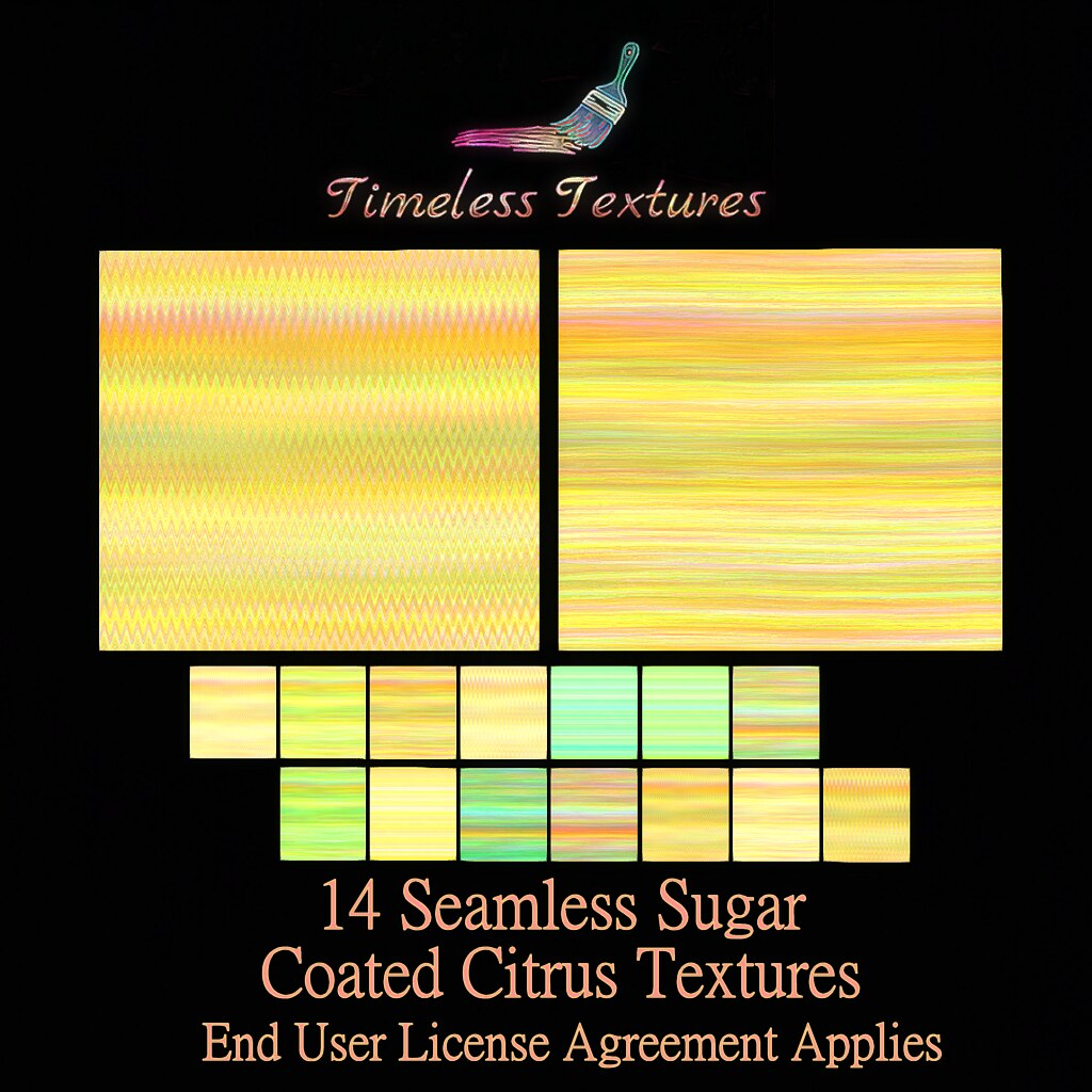 TT 14 Seamless Sugar Coated Citrus Timeless Textures