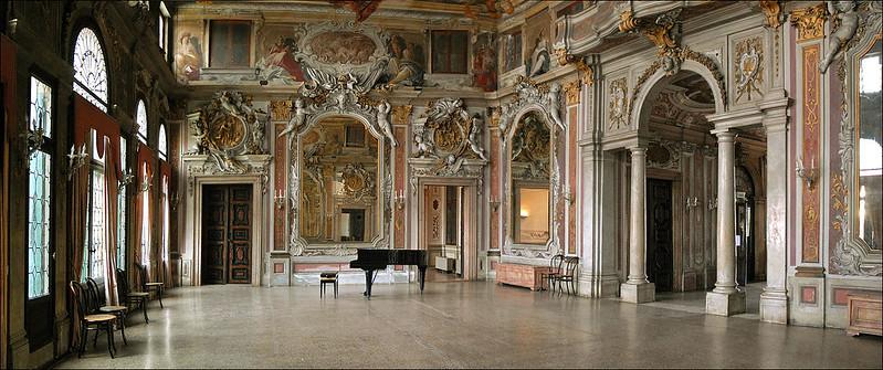 The  Zenobio Palace in Venice, ITALY