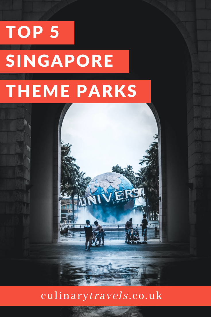Singapore is a melting pot of cultures and fast becoming one of Asia's top destinations for travellers, and it's easy to see why with the year-round good weather, fabulous food, splendid shopping opportunities and much more. Make sure to check out these top 5 theme parks while your there!
