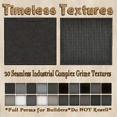 TT 20 Seamless Industrial Complex Grime Timeless Textures