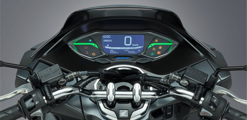 New Honda PCX Panel