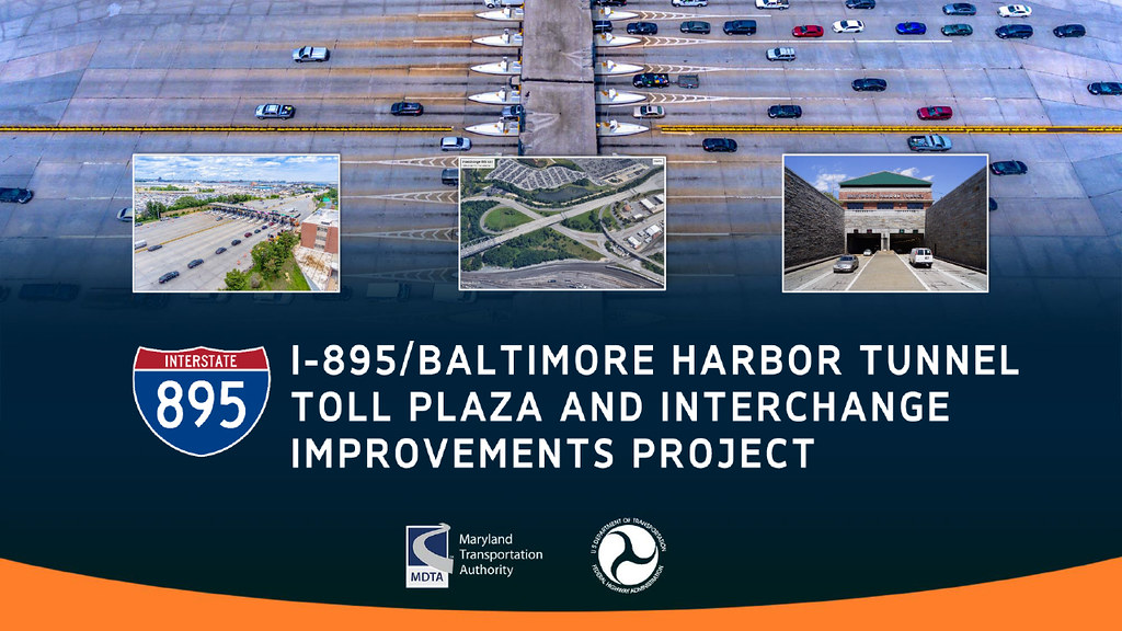 I-895/Baltimore Harbor Tunnel Toll Plaza and Interchange Improvements Project Virtual Public Meeting