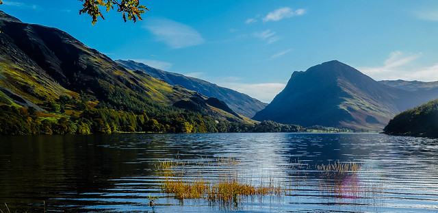 The blues of Buttermere