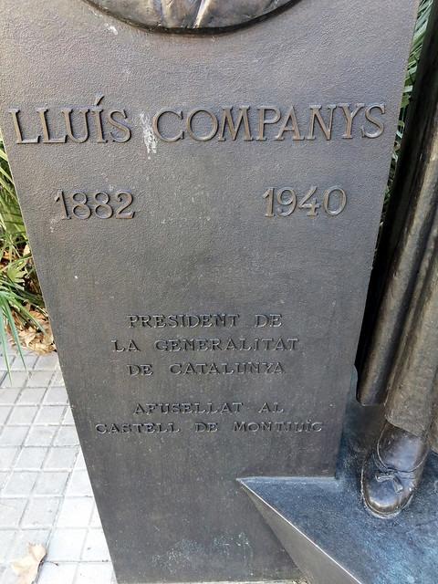 PRESIDENT LLUÍS COMPANYS I JOVER