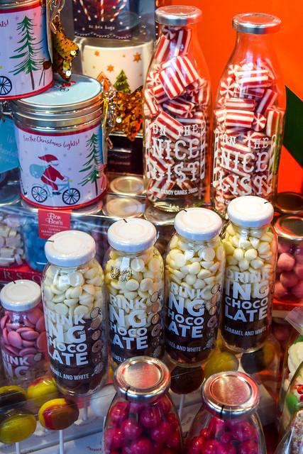 Sweet Shop Fenwick Canterbury Christmas Windows 2020