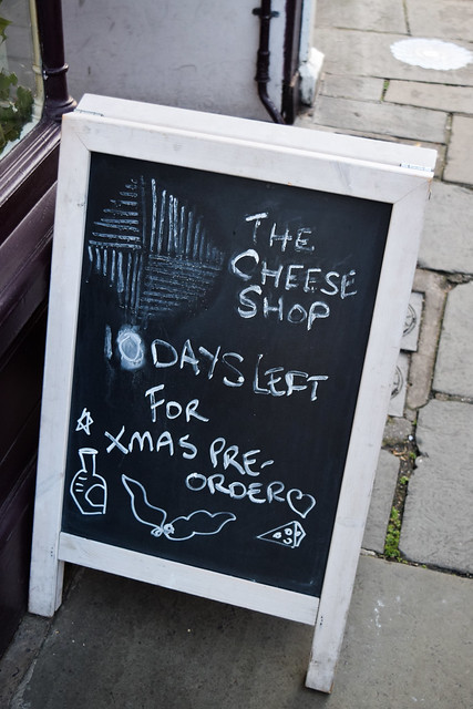 Christmas Orders at The Cheese Shop, Canterbury