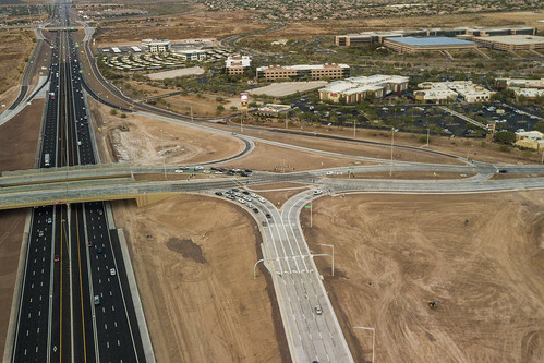 I-17 and Happy Valley Road Diverging Diamond Interchange | by Arizona Department of Transportation