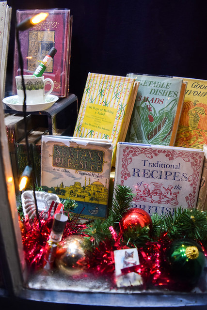 Cookbooks at The Chaucer Bookshop, Canterbury