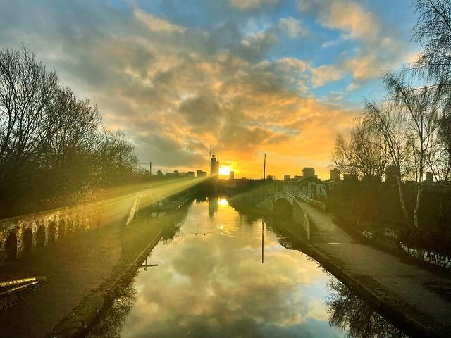 Birmingham Canals near Dudley Road Hospital