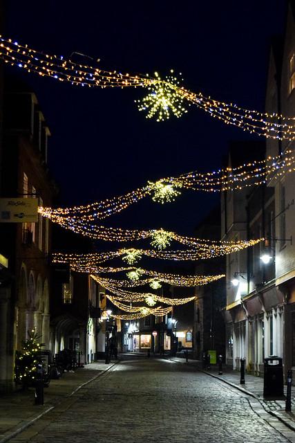 Canterbury Christmas Lights 2020