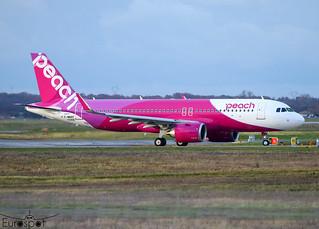 F-WWBY / JA203P Airbus A320-251N Peach s/n 10356 * Toulouse Blagnac 2020 *