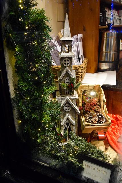 Tiny Tim's Tea Room Canterbury Christmas Window 2020