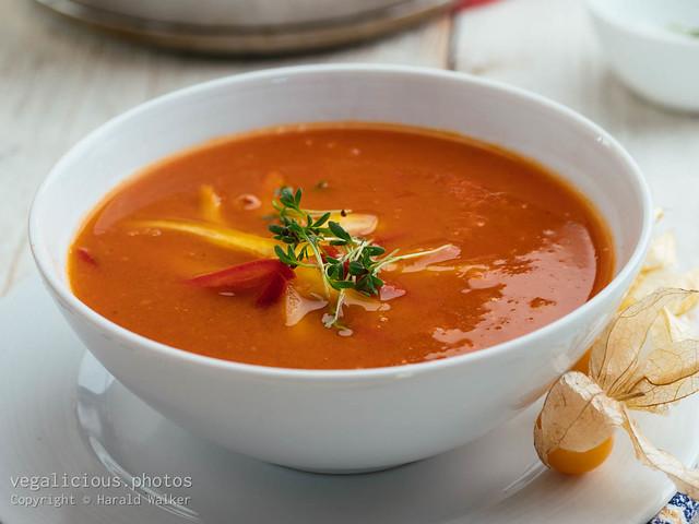 Roasted Tomato Physalis Soup