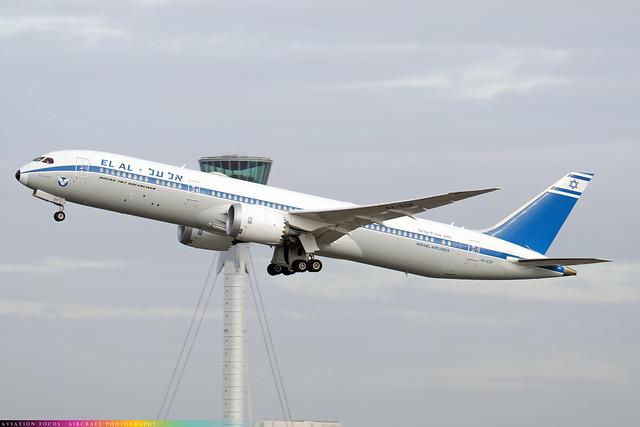 4X-EDF  -  Boeing 787-9 Dreamliner  -  ElAl Israel Airlines (Retro Livery)  -  9-12-20