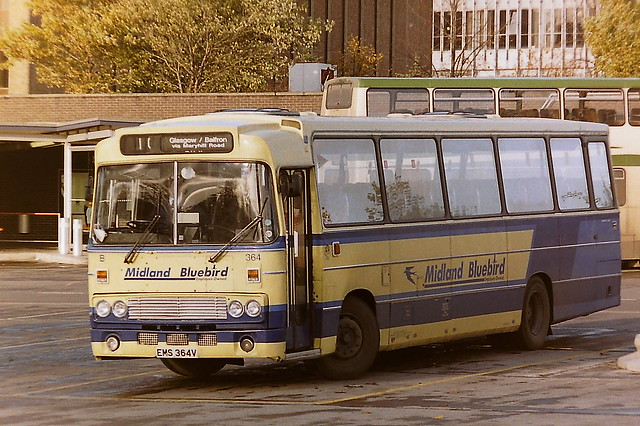 MIDLAND BLUEBIRD B364 EMS364V