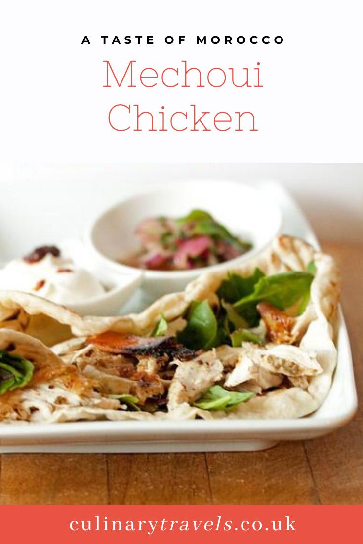 Mechoui Chicken Salad Wraps - A taste of Morocco